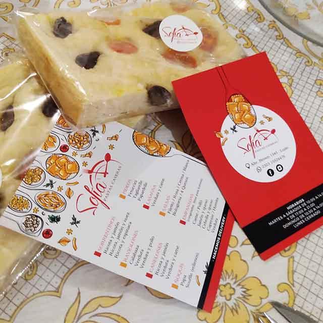 Pastas Congeladas - Pastas Sofía