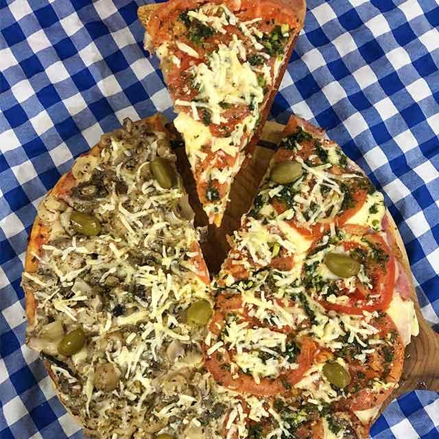 Pizzas Caseras - Amor A Primera Pizza