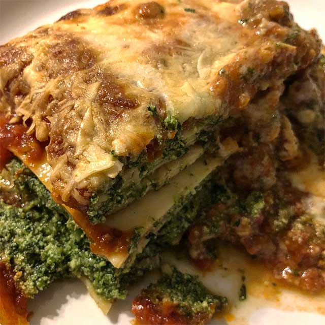 Una Tradicional Lasagna De Lo De Pandullo